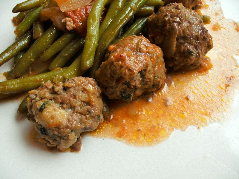 Haricots verts et boulettes de viande la proven ale recettes cookeo - Quels sont les meilleures varietes d haricot vert ...