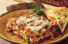 Lasagnes à la farces aux légumes végétarienne