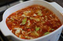 Chou Chinois à la tomate