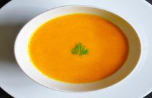 Soupe orangée