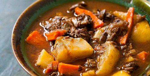 Tajine de veau aux légumes