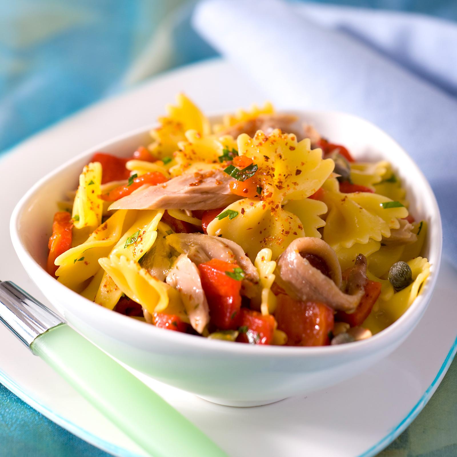 salade de p 226 tes thon et pesto recettes cookeo