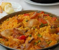 Paella indienne