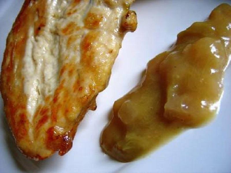 Blancs de poulet sauce oignons - Recettes Cookeo
