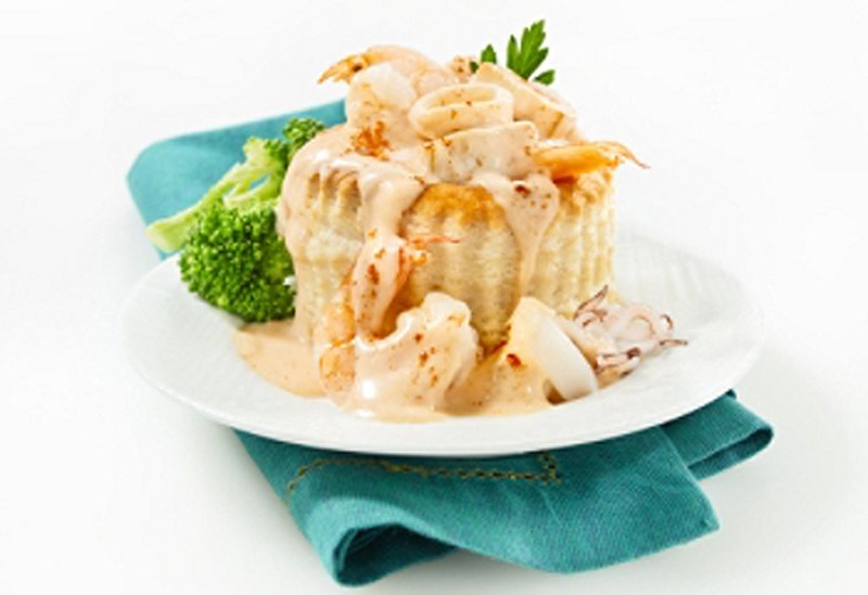 vol au vent aux fruits de mer recettes cookeo. Black Bedroom Furniture Sets. Home Design Ideas
