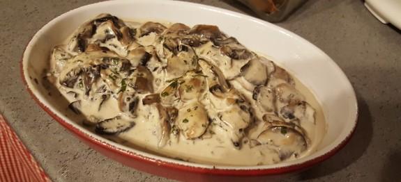 recette de champignons
