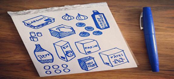 liste de courses pour le cookeo. Black Bedroom Furniture Sets. Home Design Ideas