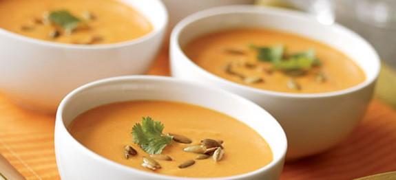 soupe froide de carottes recettes cookeo. Black Bedroom Furniture Sets. Home Design Ideas