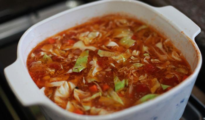 Chou chinois la tomate recettes cookeo - Cuisiner du choux chinois ...