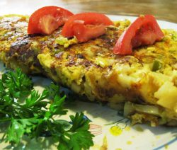 Omelette Basquaise light