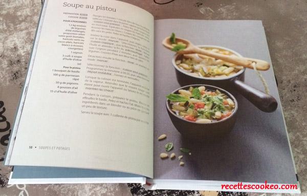 Livre cuisiner au robot cuiseur larousse