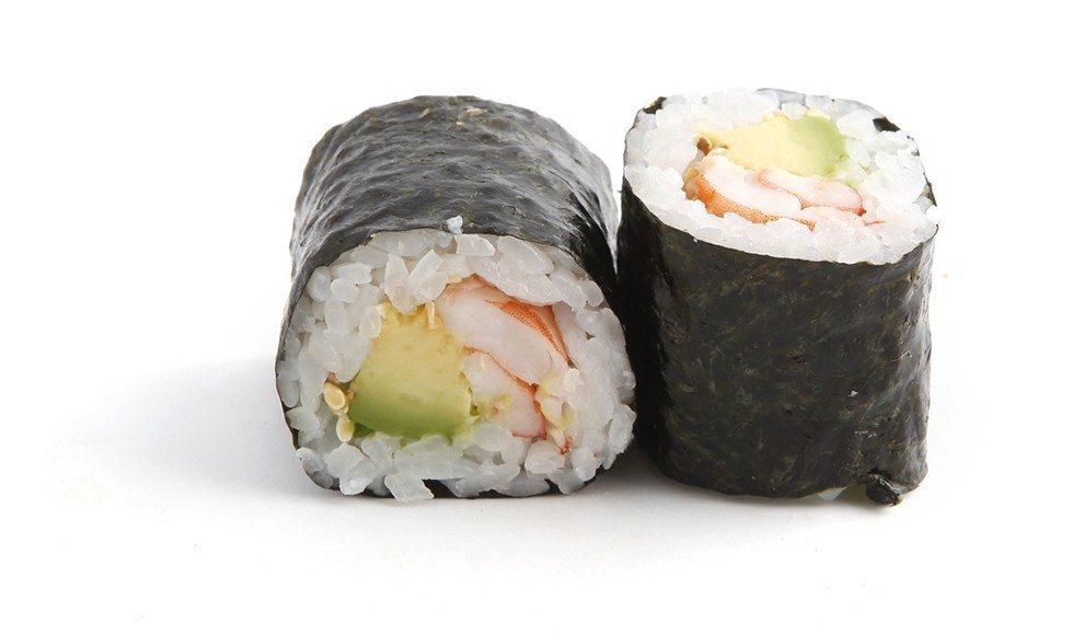 sushi maki avocat et crevettes recettes cookeo. Black Bedroom Furniture Sets. Home Design Ideas