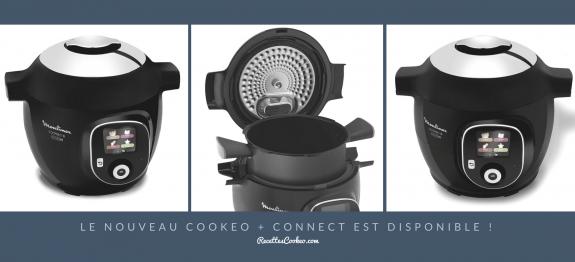 le nouveau cookeo connect est disponible. Black Bedroom Furniture Sets. Home Design Ideas