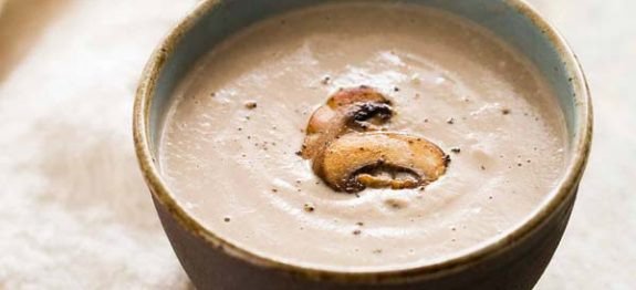 soupe aux champignons frais recettes cookeo. Black Bedroom Furniture Sets. Home Design Ideas