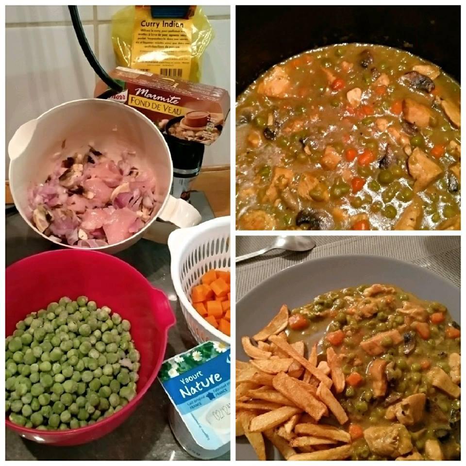 Blanc De Poulet Sauce Yaourt Au Curry Recettes Cookeo